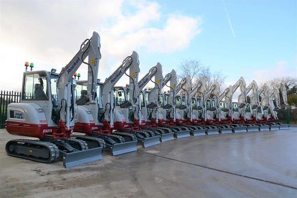 New Takeuchi Excavators