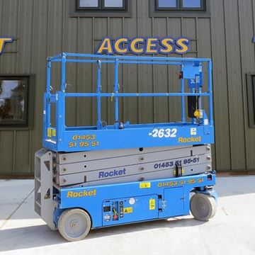 GS-2632 Electric Scissor Lift