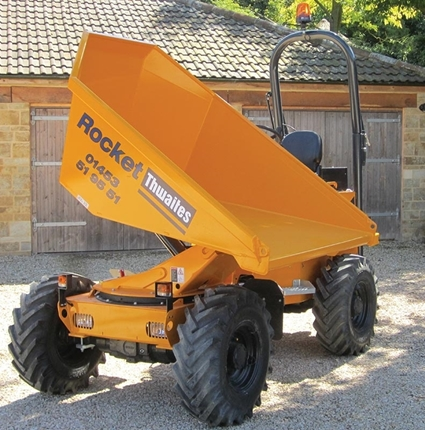 3 Tonne Swivel Dumper