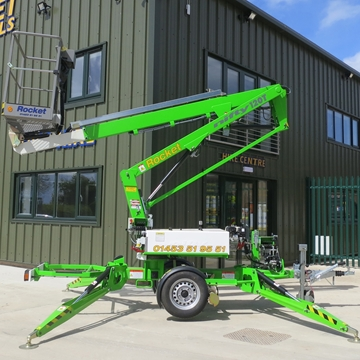 Picture of Niftylift 120T Trailer Mount