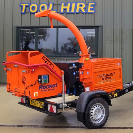 """Picture of Timberwolf TW230DHBChipper/Shredder 6.3""""Max dia infeed (Diesel)"""