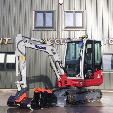 Picture of 3 Tonne Excavator
