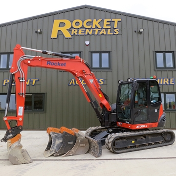 Picture of 8 Tonne Excavator