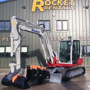 Picture of 9 Tonne Excavator