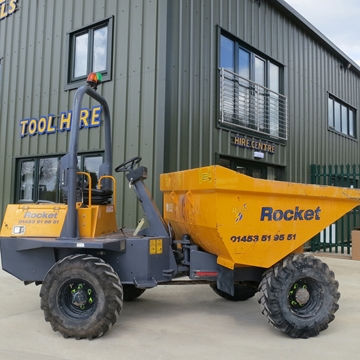 Picture of 3 Tonne Dumper Narrow