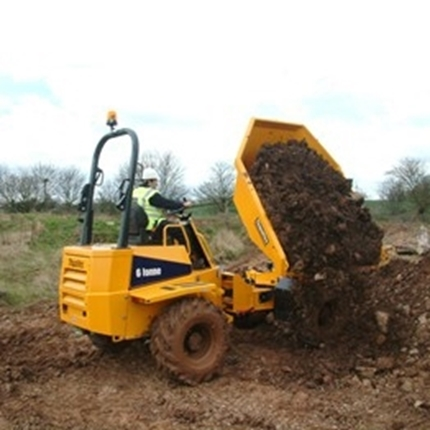 Picture of 6 Tonne Swivel Dumper