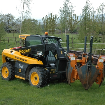 Picture of 4 Metre Telehandler