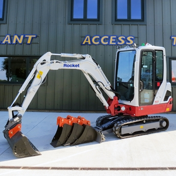Picture of 2.5 Tonne Excavator