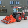 tractor with attachment