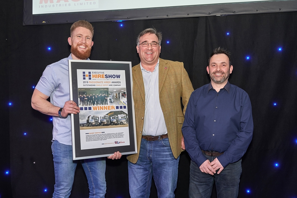 We are Passionate Hirer Of The Year 2019!