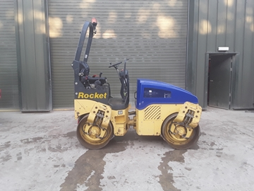 Picture of Bomag 120 Ride On Roller